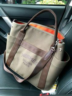 Hermes grooming bag