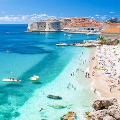 The post Summer paradise Dubrovnik, Croatia. Pho appeared first on . Best Vacations, Vacation Destinations, Vacation Trips, Visit Croatia, Croatia Travel, Mykonos, Santorini, Best Of Croatia, Places To Travel