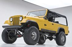 Really nice Jeep Scrambler Cj Jeep, Jeep Cj7, Jeep Truck, Jeep Wrangler, Jeep Scrambler, Vintage Jeep, Vintage Cars, Badass Jeep, Cool Jeeps