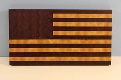 American Flag Cutting Board: a Historical Heirloom