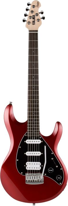 Sterling by Musicman Sub Silo 3 Electric Guitar Red