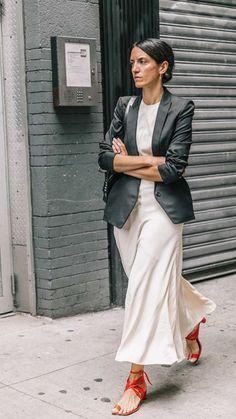 Best of New York Fashion Week: Street Style New York Fashion, Star Fashion, Look Fashion, Fashion Tips, Classy Fashion, French Fashion, Fashion Fashion, Korean Fashion, Fashion Women