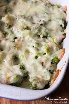 Brócolis com Queijo - Gratinado