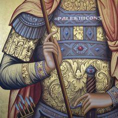 На данном изображении может находиться: один или несколько человек Icon Clothing, Gold Leaf Art, Creativity Exercises, Russian Icons, Byzantine Icons, Ornaments Design, Art Icon, True Art, Orthodox Icons