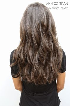 LA: LONG, BEAUTIFUL, AND PERFECT HAIR AT RAMIREZ TRAN. Cut/Style: Anh Co Tran. Appointment inquiries please call Ramirez Tran Salon in Beverly Hills: 310.724.8167