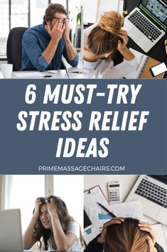 Looking for ways to relieve your stress after a long day at work? In this article, will discuss 6 must-try stress relief ideas. Click through to learn more. Ways To Relieve Stress, Massage Benefits, Stressed Out, Stress Relief, Improve Yourself, Life, Ideas, Thoughts