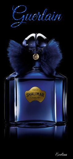 Perfumes blue and gold