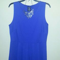 SKATER DRESS Beautiful Colbalt Blue dress George Dresses