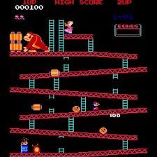 The world record score on Donkey Kong is 1,064,500 held by Steve Wiebe. His quest to be world record holder was the subject of movie: King of Kong.