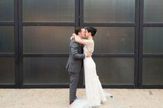 www.socalweddingconsultant.com 501 Union Wedding First Look Kiss