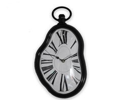 Cheap decorative large wall clocks, Buy Quality clock back directly from China decor clock Suppliers: Home Decoration Distorted Melted Melting Clock Quartz Irregular Unique Wall Clock Dali Watch Rlogio DE Parede Produ