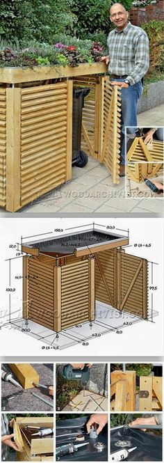 Garden Store Plans - Outdoor Plans and Projects - Woodwork, Woodworking, Woodworking Plans, Woodworking Projects Outdoor Projects, Garden Projects, Home Projects, Garden Ideas, Garden Loppers, Garden Wagon, Garden Ponds, Garden Fencing, Summer Garden