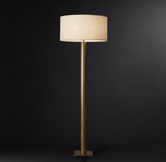 Cylindrical Column Floor Lamp