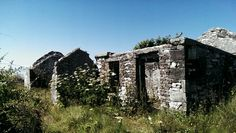 Old abandoned house. Rathlin Island. #my own #S.Campbell