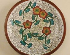 floral copper enamel on Etsy, a global handmade and vintage marketplace.