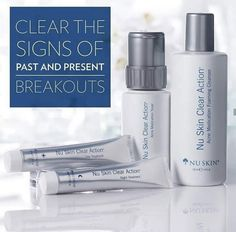 Details about nu skin clear action acne medication system Oily Skin Care, Healthy Skin Care, Anti Aging Skin Care, Nu Skin, Skin Care Routine 30s, Action, Beauty Care, Beauty Box, Clear Skin