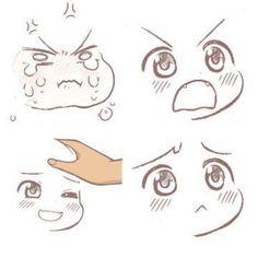 ideas for jewerly drawing anime - Art Drawings Chibi Manga, Manga Art, Anime Art, Chibi Dog, Chibi Eyes, Chibi Hair, Anime Drawings Sketches, Kawaii Drawings, Cute Drawings
