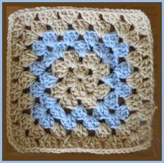 Beginner Traditional Granny Square Pattern 1 ~ Heather�s Crochet Blog