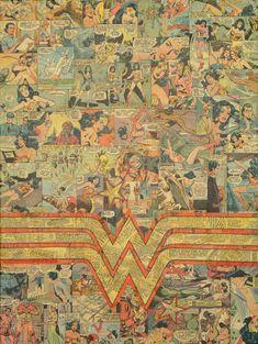 Wonder Woman Logo. $400.00, via Etsy.