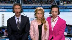 Johnny Weir is a walking middle finger in Sochi.