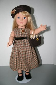 American Girl Doll ClothesChocolate and Olive by KathiesDollCloset, $10.99