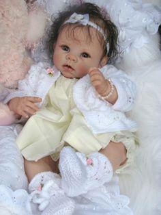 Reborn Doll Baby Girl Chloe Linda Murrys Krista by jenniferET
