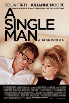 'A Single Man', Colin Firth, Julianne Moore - fabulous '60's fashions.