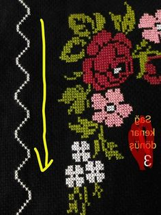 This Pin was discovered by Kad Embroidery Stitches, Hand Embroidery, Cross Stitch Art, Prayer Rug, Baby Knitting Patterns, Christmas Sweaters, Diy And Crafts, Kids Rugs, Crochet