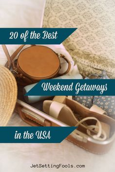 Craving a vacation, but short on paid time off? No worries: you can get your travel fix on a quick weekend trip! The United States may be vast, but it is also well-connected – and there is no shortage of short trip ideas. To help you effortlessly plan your end-of-the-work-week vacation escape, we have rounded up the best weekend getaways in the USA! Best Weekend Getaways, Weekend Trips, Travel Guides, Travel Tips, Paid Time Off, Short Trip, Walking Tour, Budget Travel, Traveling By Yourself