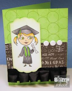 Fun girl graduate from SS Graduates set