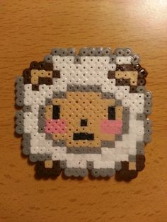 Sheep hama beads by Factory Beads