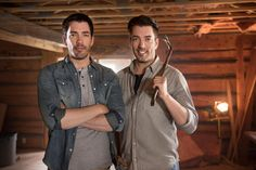 Our Favorite Twins, The Property Brothers Take Us Behind The Scenes.