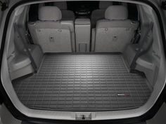 WeatherTech Cargo Liner for the  2012 Toyota Highlander. Equipped for 3rd row of vehicle, the Cargo Liner keeps your vehicle interior safe. Available in black, tan or grey colors. Various years also in stock.