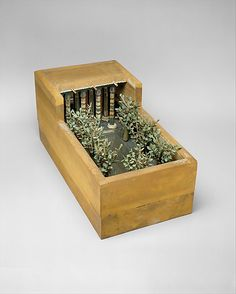 Model of a Garden Period: Middle Kingdom  Dynasty: Dynasty 12  Reign: reign of Amenemhat I, early  Date: ca. 1981–1975 B.C.