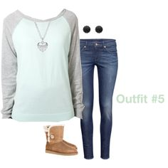 """""""School Outfits #5"""" by girly-and-glamorous123 on Polyvore"""