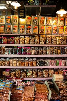 Biscuits Galore . Khlong Toey Market . Bangkok