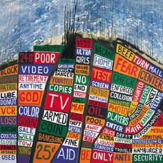 What do you listen to when there's no new Radiohead album? A classic Radiohead album. 'Hail To The Thief' Is 10 - Revisiting Radiohead's Underrated Masterpiece The Velvet Underground, Pink Floyd, Music Album Covers, Music Albums, Owl City, Lp Cover, Cover Art, Art Design, Cover Design