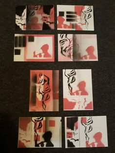 Abstracards proces