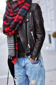 Zara scarf: Fashion Cognoscenti Inspiration: 2014
