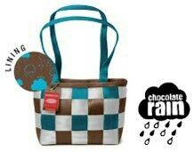 *Harveys Seatbelt Bag 2008 LTD Medium Tote in ~Chocolate Rain~ #163 of 250*