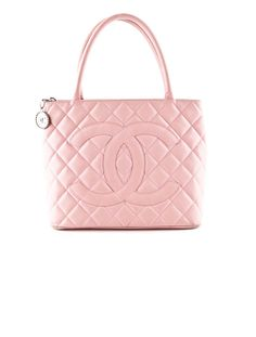 c65819e41f2a Chanel Light Pink Quilted Leather Bag. Light Pink Purse