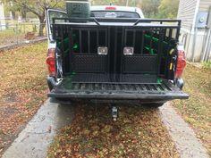 Custom built dog box by Backyard Customs, LLC Lugoff, SC #aluminumdogbox #hunting