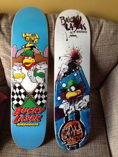 Bucky Lasek Birdhouse decks from my collection
