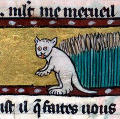 Ever Noticed How Ugly Medieval Cat Paintings Are? Now You Will - artFido's Blog
