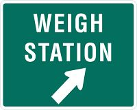 Do I need to stop at a weight station with a rental truck? If you are renting a truck from U-Haul, Budget Truck or Penske Truck and moving long distance you may have questions about weigh station rules.