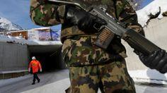 Un des soldats pincé au WEF avec de la coke jugé