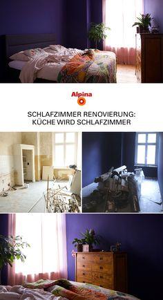 Von Alpina Farben · Bye Bye, Küche. 👋 Hallo, Schlafzimmer! Wie Wundervoll  Eine Alte Küche Renoviert