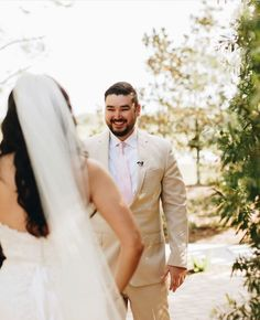 @obbweddings posted to Instagram: When you see your soon to be wife for the first time, his smile says it all 😍  Preferred Wedding Pro:  Wedding Planner: @yourfavdayfl Venue: @theroyalcrestroom _  Photo: @sydneymariephotography #obbcentralflorida #weddingblog #floridawedding #orlandoweddingvendors #orlandowedding #weddingvendor #happybride #imgettingmarried #engagedlife #engagedcouple #justengaged #futurebride #weddingphotography #mrandmrs #weddingstyle #brideandgroom #justmar Wedding Vendors, Wedding Blog, Wedding Styles, Wedding Planner, Wedding Groom, Wedding Attire, Groom And Groomsmen Looks, Just Engaged, Orlando Wedding