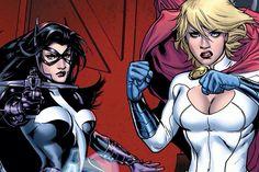 Huntress & Power Girl