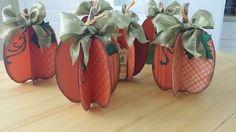 Mrs Ds Craft Cottage: How to Make 3d Pumpkin Cards used the 3d pumpkin set